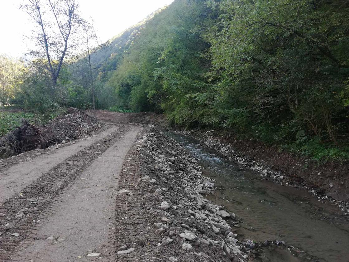 uredjenje korita rijeke ljubine lokalitet dubrave 4