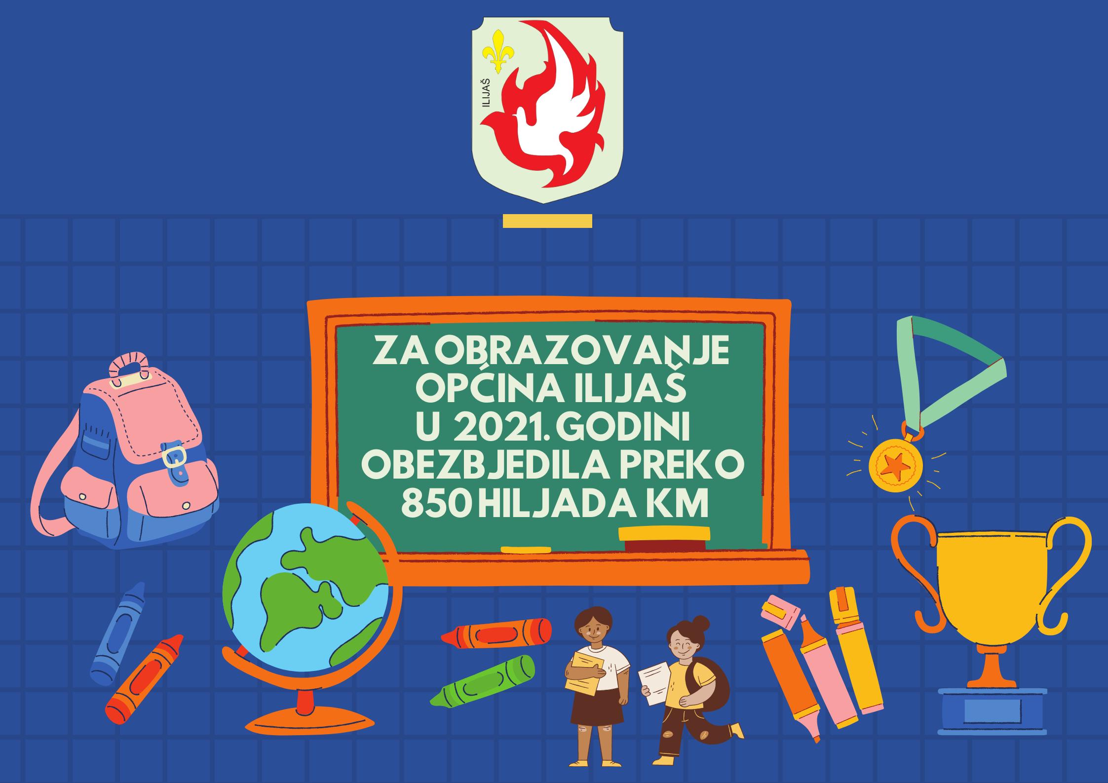 Za obrazovanje Općina Ilijaš u 2021. godini izdvaja preko 700 hiljada KM 1